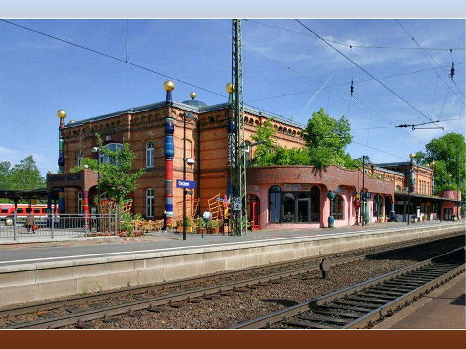 Vasútállomás - Uelzen, Németország