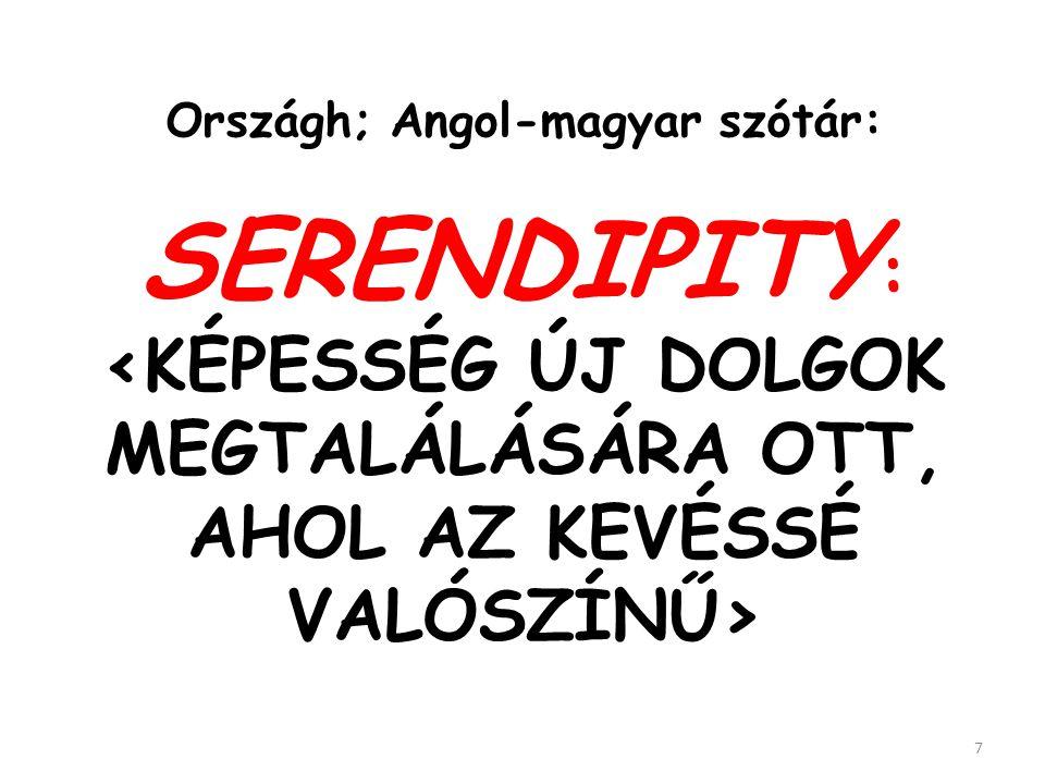 """Ez a háttere a """"serendipity"""" szó megalkotásának és jelentése kialakulásának 6"""