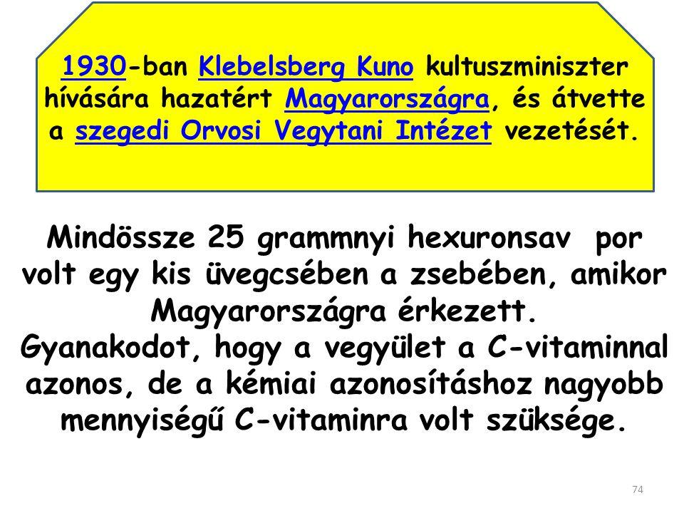 Hollandiai, angliai, amerikai kutatásai során (mellékveséből) egy ismeretlen vegyületet állított elő, amelyet először ignose (ismeretlen-cukor) majd Godnose -nak (Isten-tudja-mi-cukor) nevezett.
