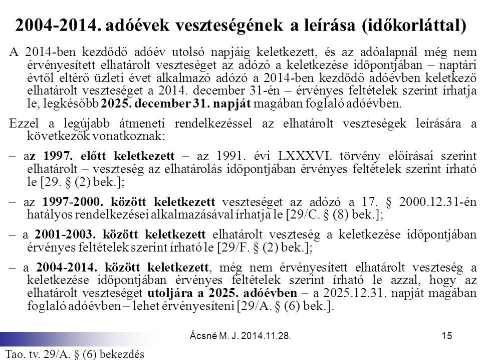 Ácsné M.J. 2014.11.28.15 2004-2014.
