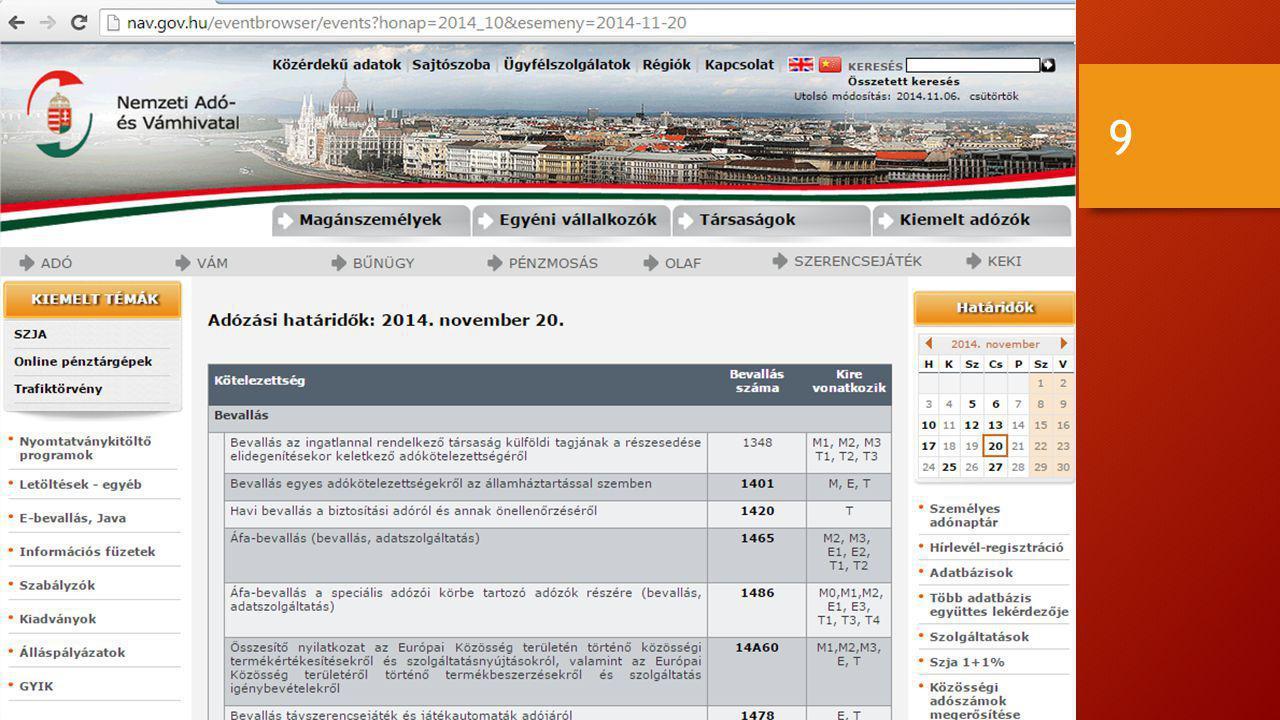 Közösségi értékesítés áfa kockázata: 20
