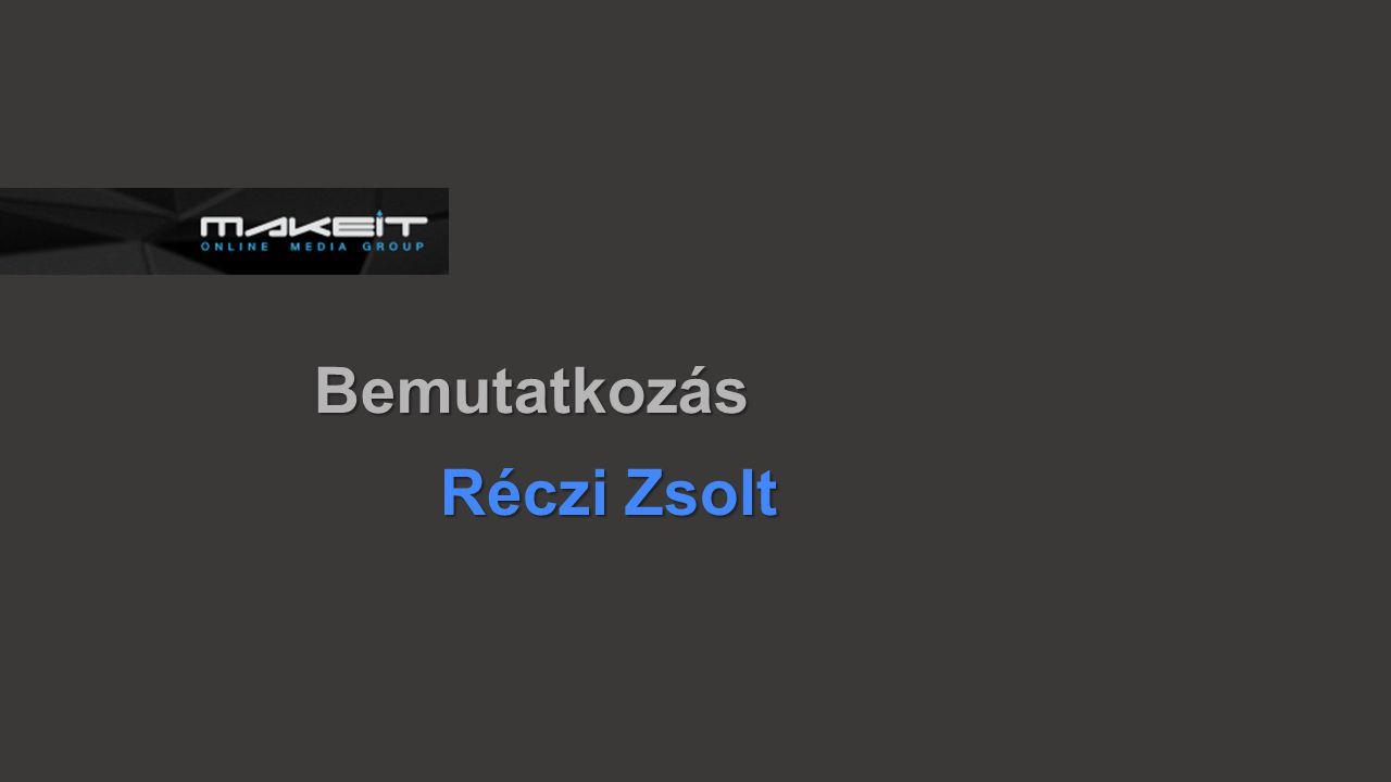 2011 Óbudai Egyetem Neumann János Informatikai karán megkezdem tanulmányaimat 2013 Belvedere Online Marketing és Alkalmazásfejlesztő Kft.
