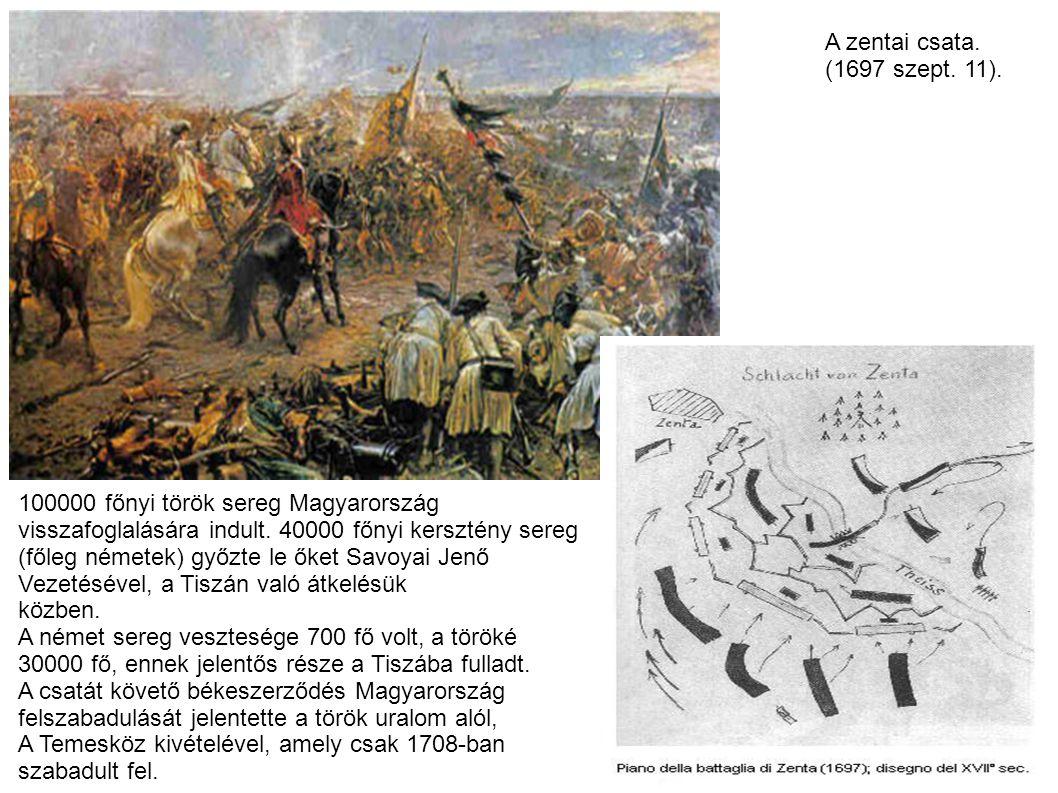 Rákóczi szabadságharc (1703-1711) I.Lipót császár (1657-1705) II.