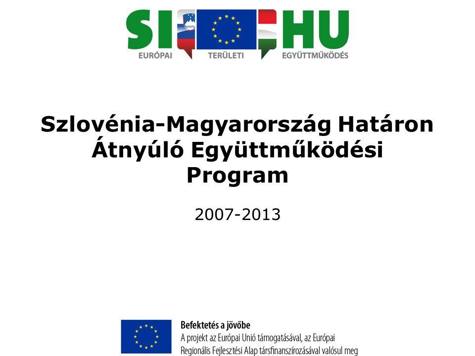 Szlovénia-Magyarország Határon Átnyúló Együttműködési Program 2007-2013