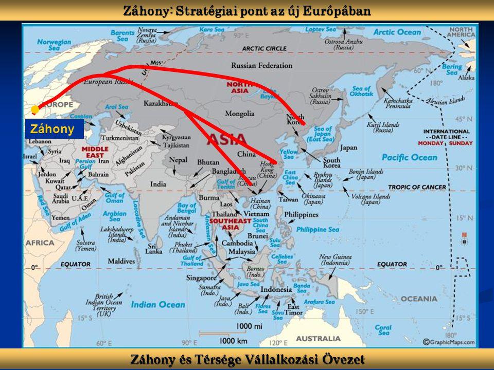 Záhony: Stratégiai pont az új Európában Záhony és Térsége Vállalkozási Övezet Záhony