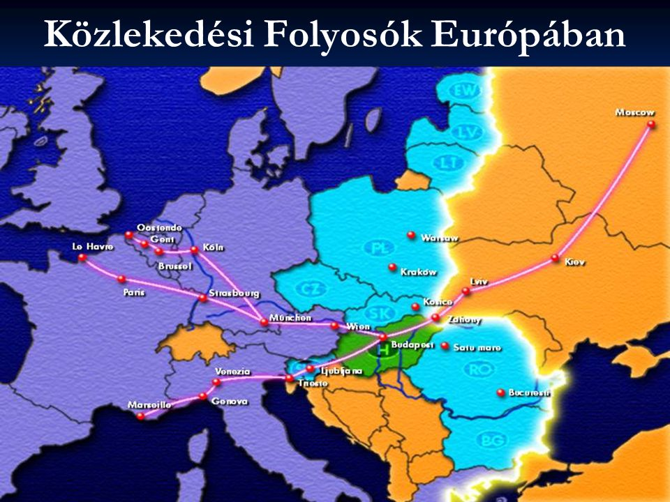 Közlekedési Folyosók Európában