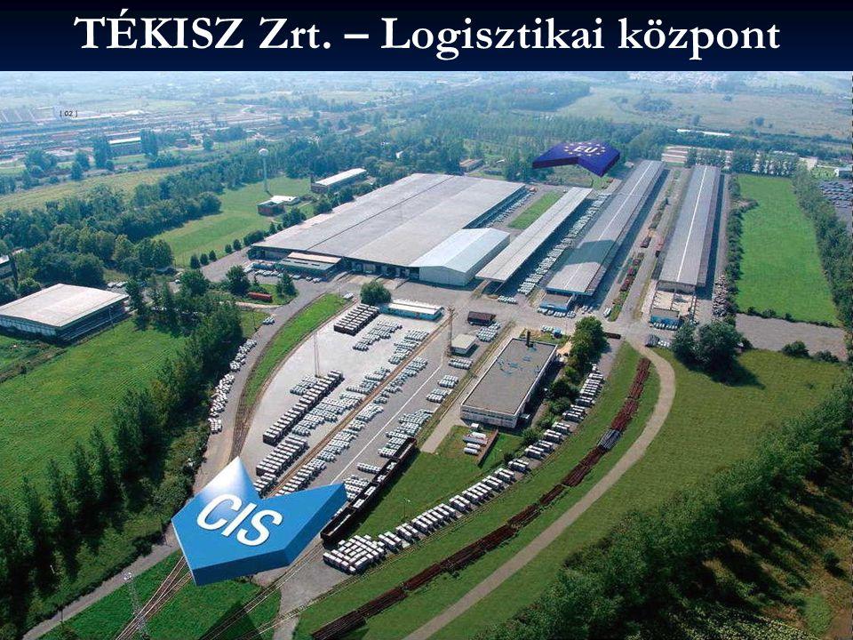 TÉKISZ Zrt. – Logisztikai központ