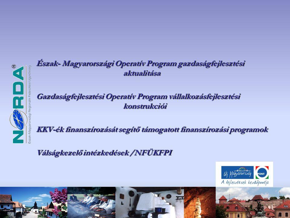 Észak- Magyarországi Operatív Program