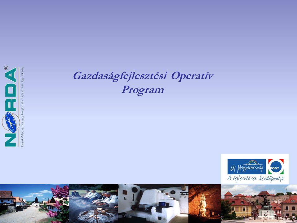 Vállalati innováció támogatása (GOP-2009-1.3.1/A) 2009.03.16- 2010.02.15.