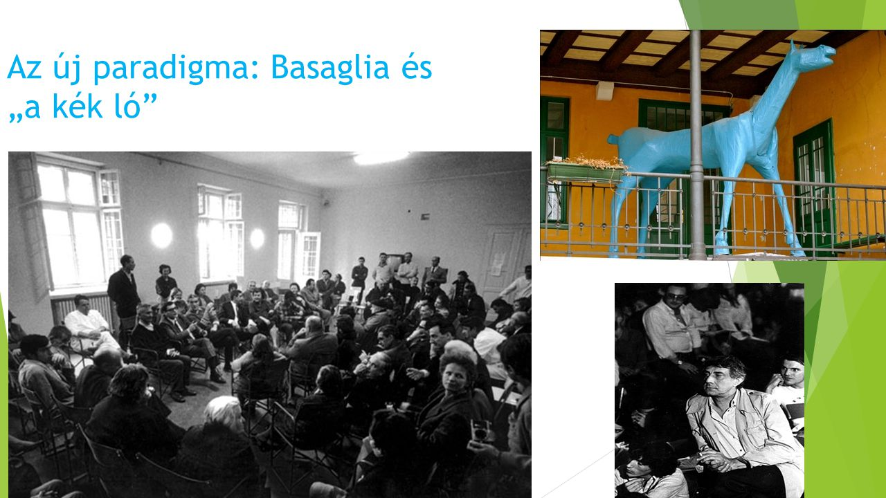 """Az új paradigma: Basaglia és """"a kék ló"""""""