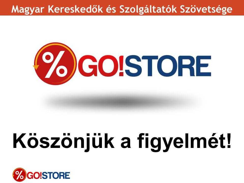 Köszönjük a figyelmét! Magyar Kereskedők és Szolgáltatók Szövetsége