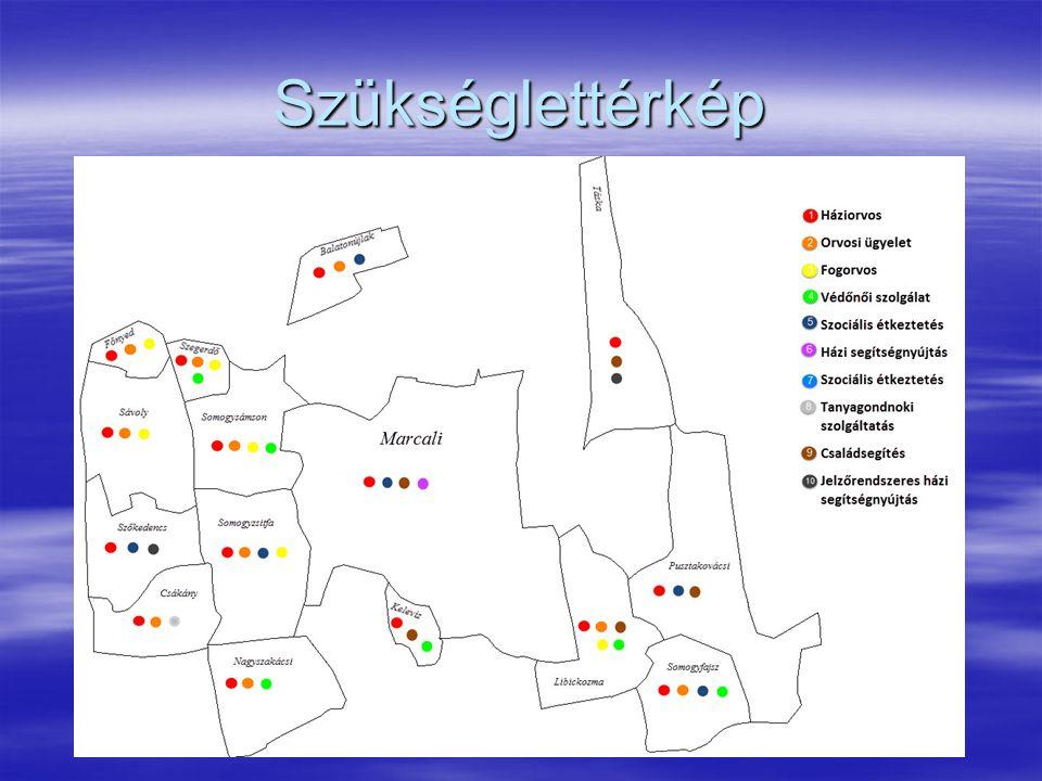 EREDMÉNYEK ÖSSZEGZÉSE A HIPOTÉZISEK ALAPJÁN   A felmérések eredményei hipotézisünket igazolták, miszerint a projekt 15 településén a szociális és egészségügyi alapellátások megfelelnek a lakosság szükségleteinek.