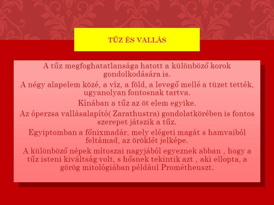 TŰZ ÉS VALLÁS II.