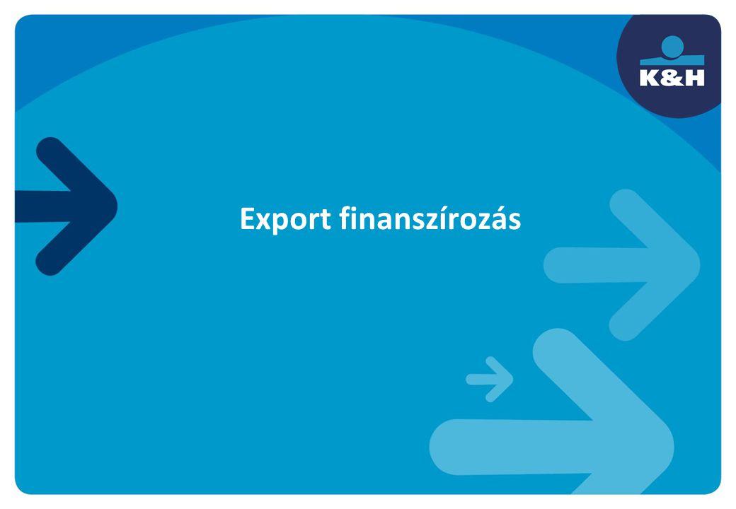 Export finanszírozás