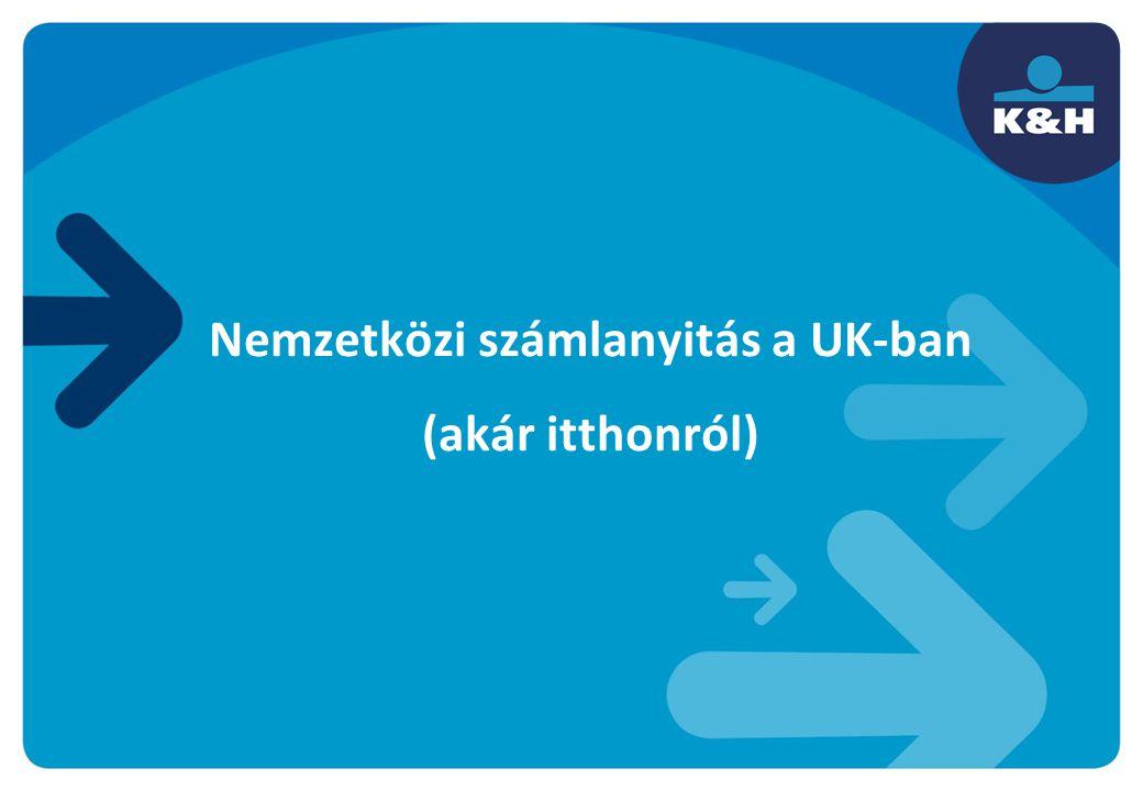 Nemzetközi számlanyitás a UK-ban (akár itthonról)