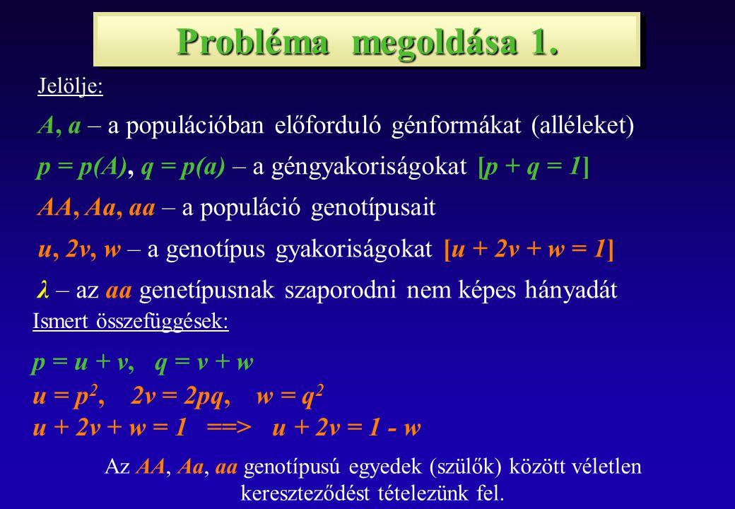 Probléma megoldása 2.