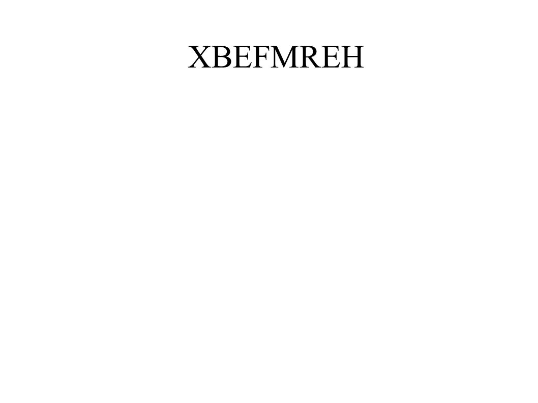 XBEFMREH