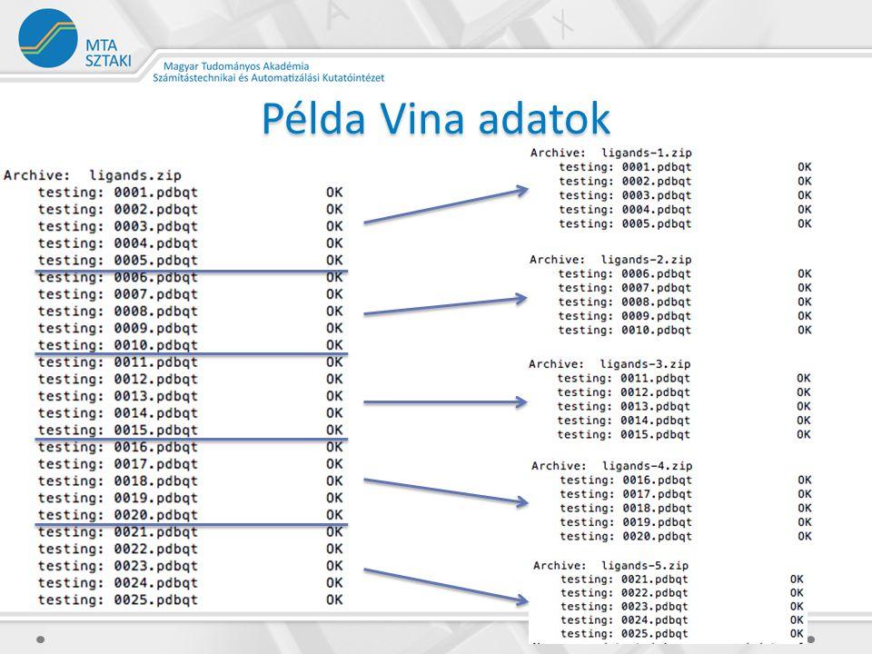 Példa Vina adatok