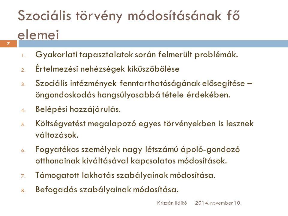 A személyes gondoskodást nyújtó szociális ellátások térítési díjáról szóló 29/1993.