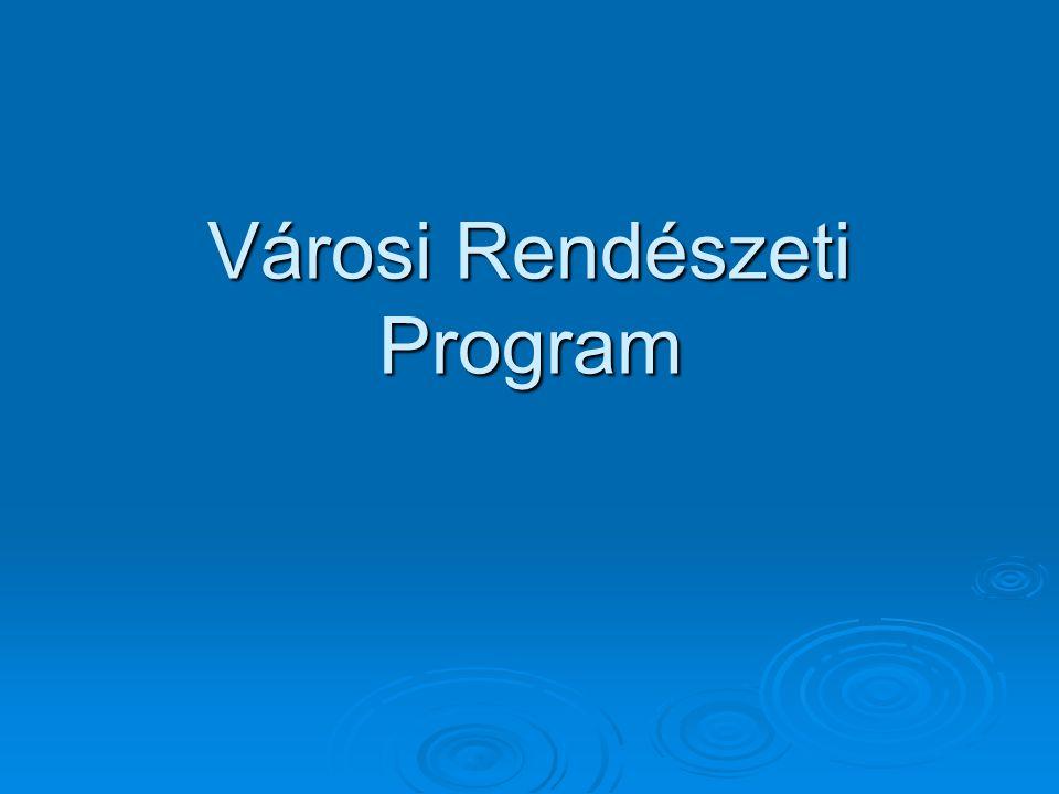 Városi Rendészeti Program