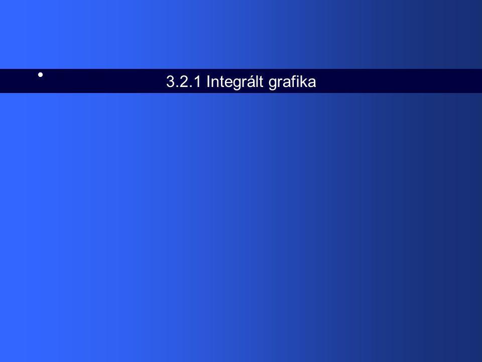 3.2.1 Integrált grafika