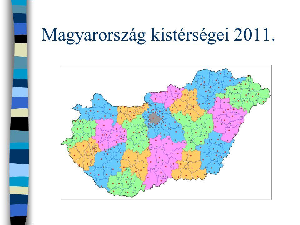 Magyarország kistérségei 2011.