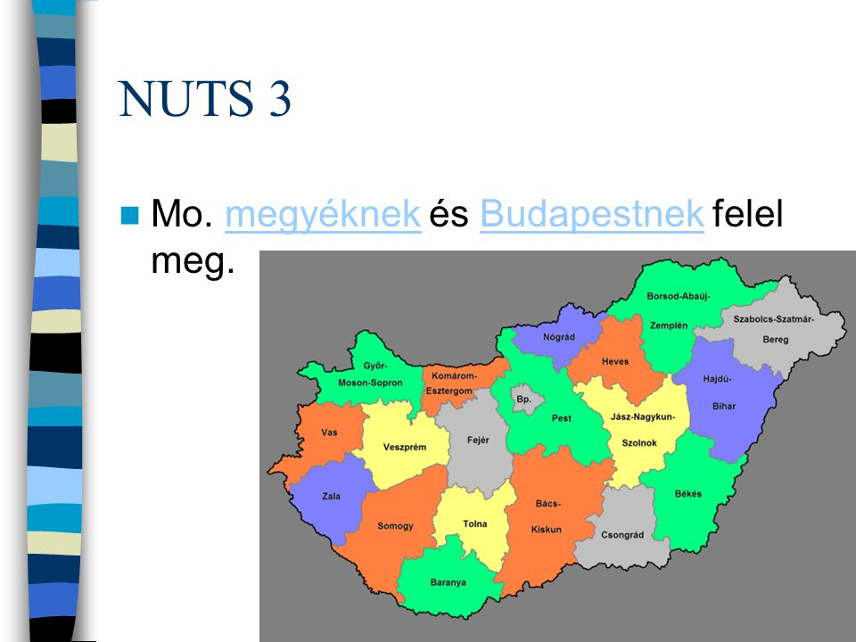 LAU 1 = NUTS 4 A LAU 1-es szint (korábbi nevén NUTS 4) 175 statisztikai kistérséget tartalmaz.kistérséget A kistérség földrajzilag összefüggő, elsősorban területfejlesztési és statisztikai célokat szolgáló területi egység Magyarországon.Magyarországon