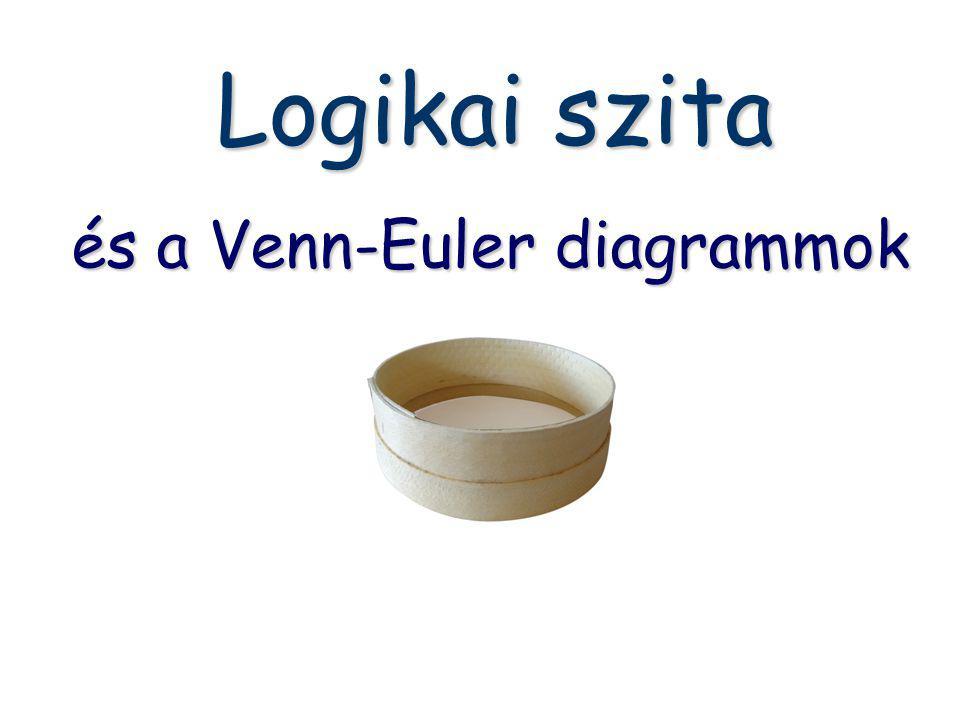 Logikai szita és a Venn-Euler diagrammok