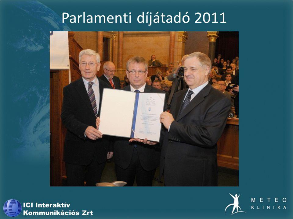 Parlamenti díjátadó 2011