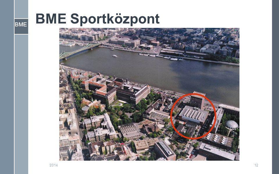 BME BME Sportközpont 122014