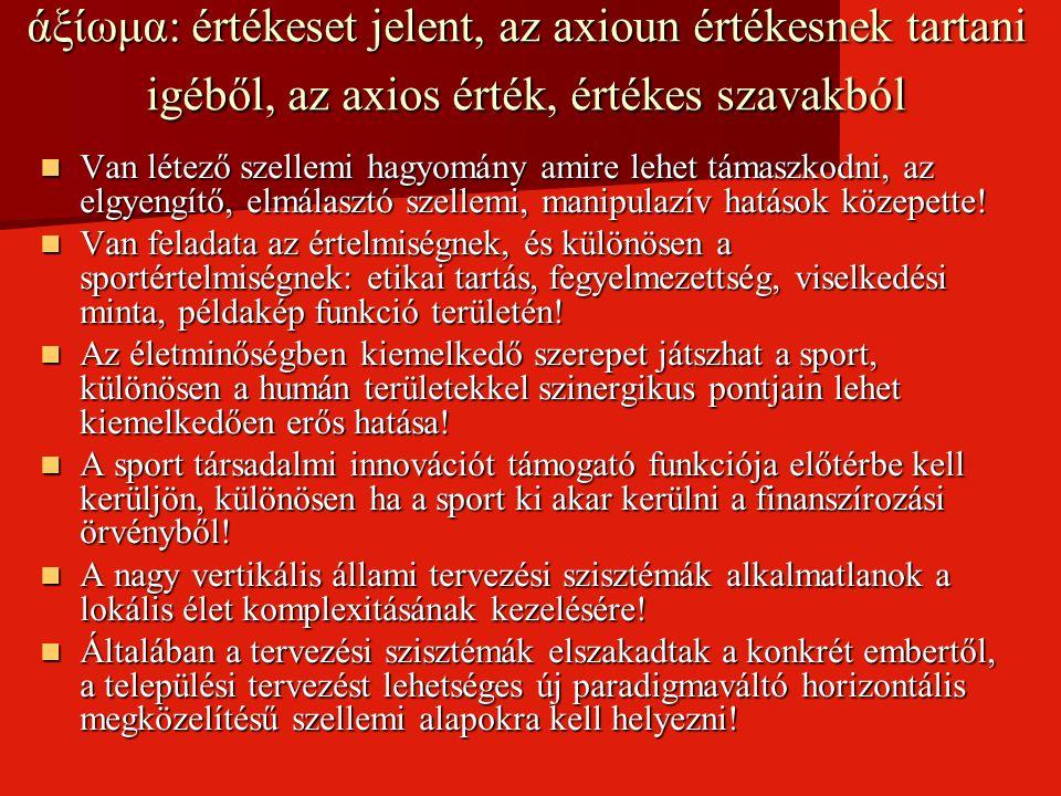 A magyar sport XX.
