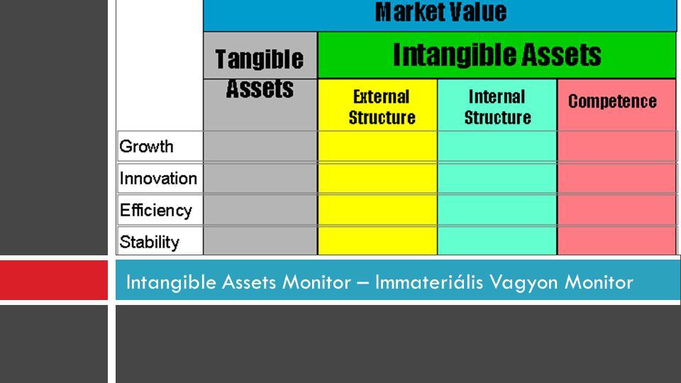 Intangible Assets Monitor – Immateriális Vagyon Monitor