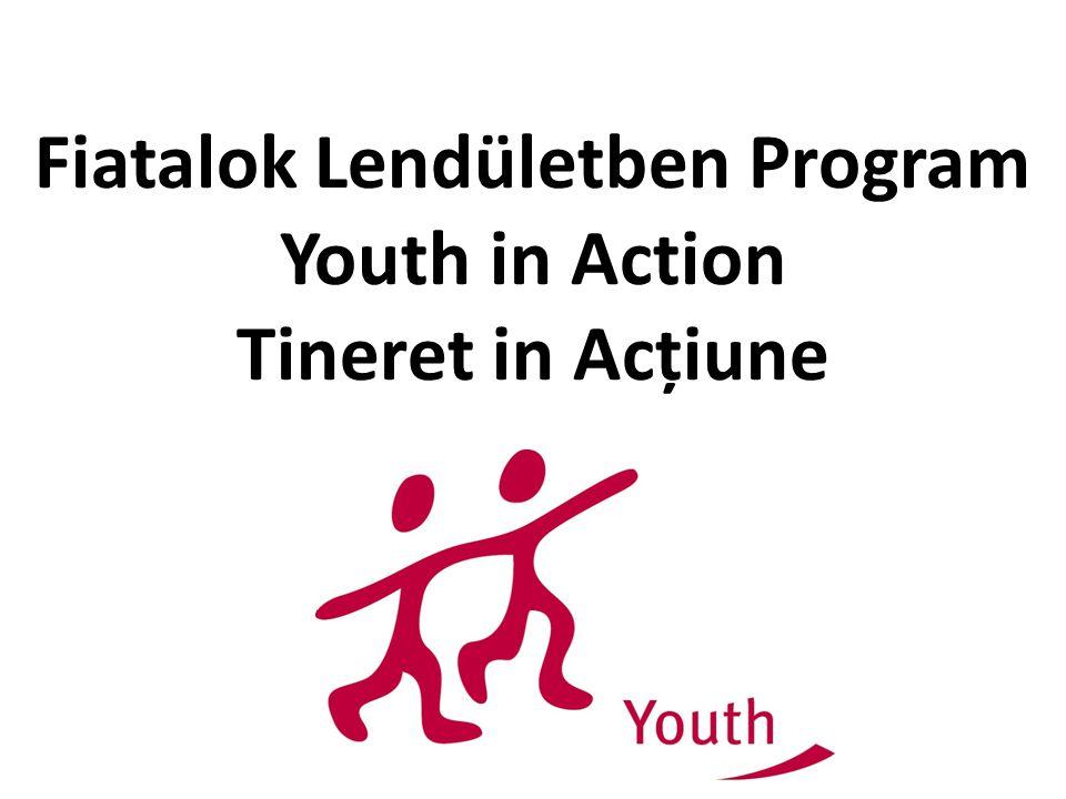 Célok: A fiatalokat Európában aktív állampolgári részvételre, szolidaritásra és toleranciára ösztönözni, és bevonni őket Európa jövőjének alakításába; elősegíteni a fiatalok mobilitását Európa határain belül és azokon kívül is; hozzájárulni a nem-formális tanulási lehetőségek bővítéséhez, valamint kultúrák közötti párbeszédhez; Bátorítani a fiatalok bevonását iskolázottságtól, szociális és kulturális háttértől függetlenül.