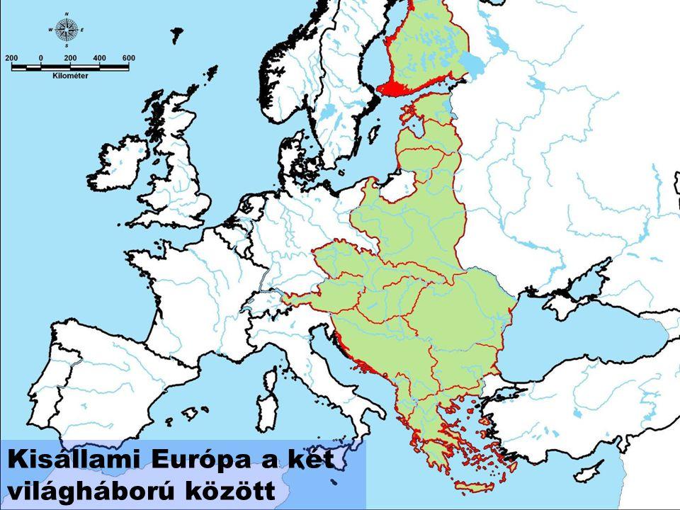 Kisállami Európa a két világháború között