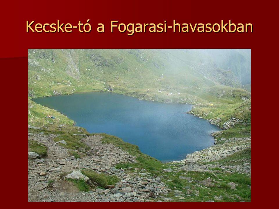 Bukura-tó Románia legnagyobb tengerszeme a Retyezát-hegységben.