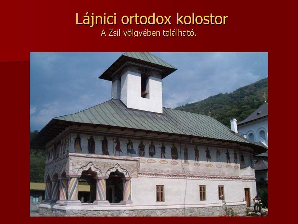 Szeplőtelen fogantatás kolostor Fából épült Havasalföldön, Francesti faluban.