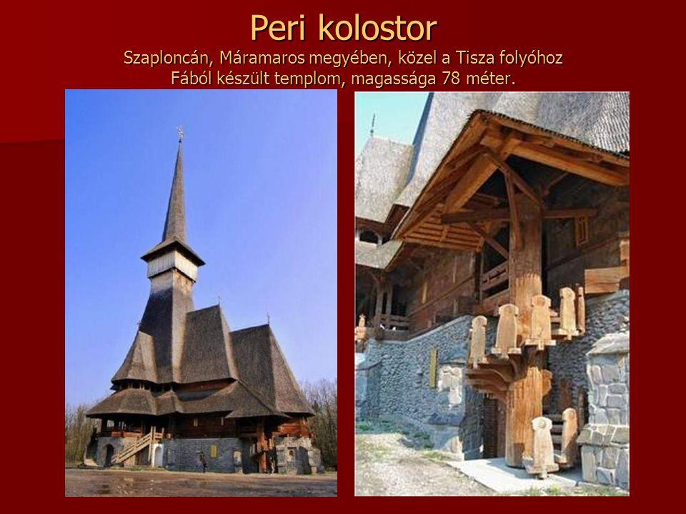 Neamt kolostor Németvásár közelében található. (Neamt magyarul németet jelent.)