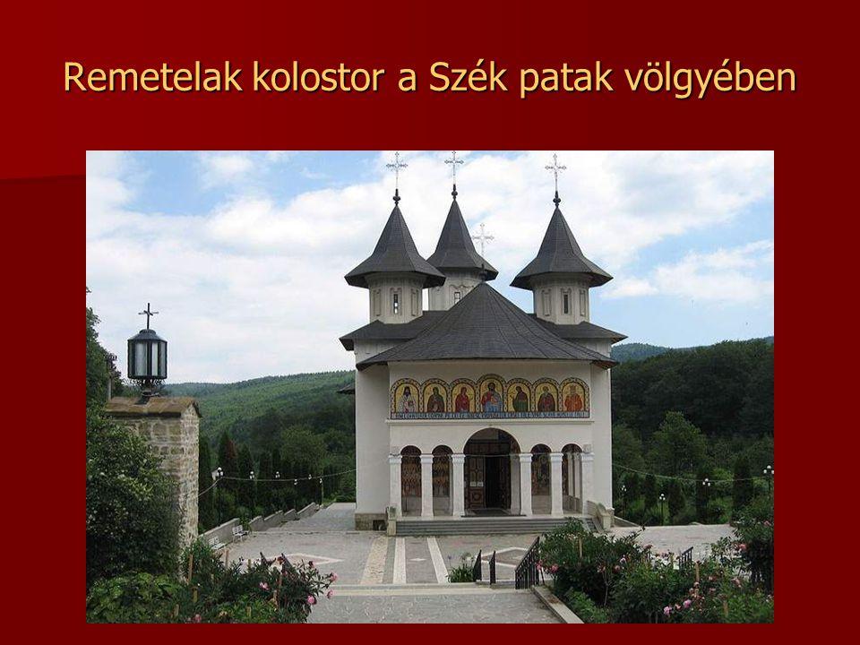 Szék kolostor A Szék patak völgyében, a Básán (románul Vasan) hegy lábánál, Németvásár közelében, Gyékény (románul Pipiring) település határában talál