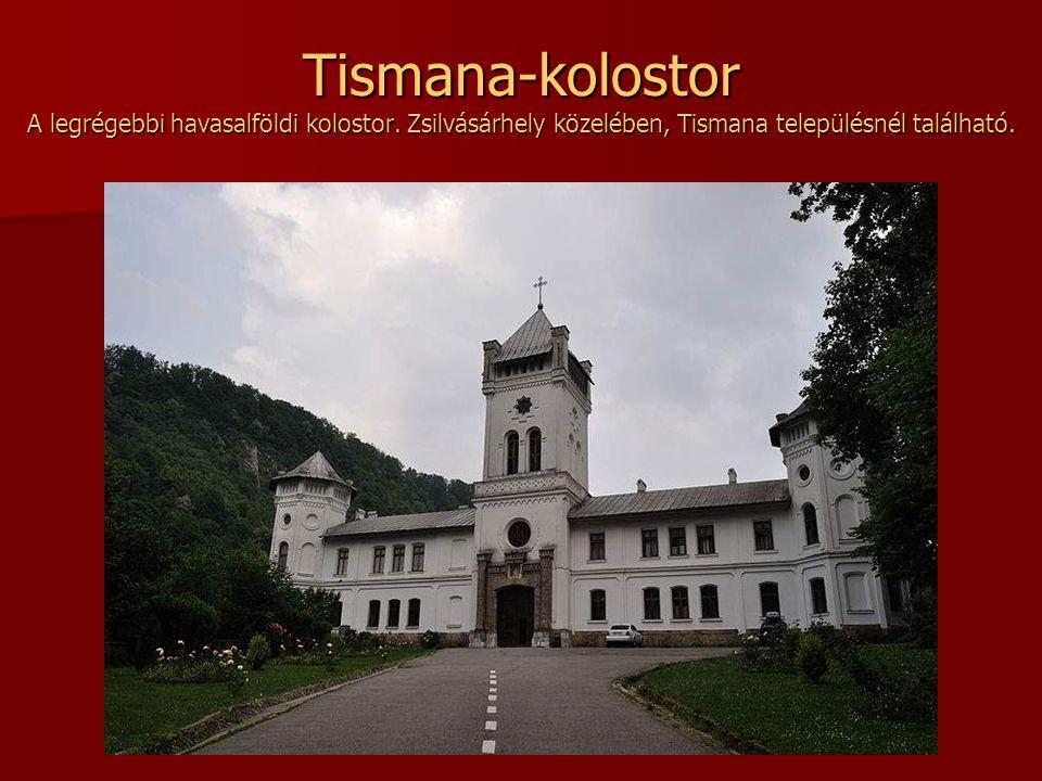 Ismét egy kép a bukovinai Sucevita kolostorról A Feltámadás tiszteletére szentelték.