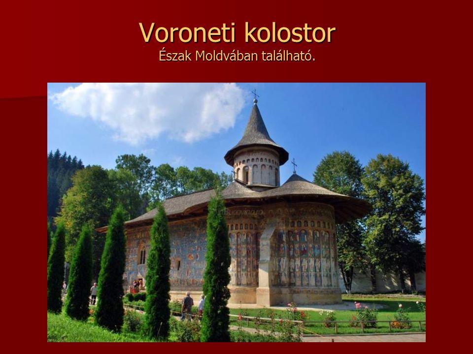 Tismana-kolostor A legrégebbi havasalföldi kolostor. Zsilvásárhely közelében, Tismana településnél található.