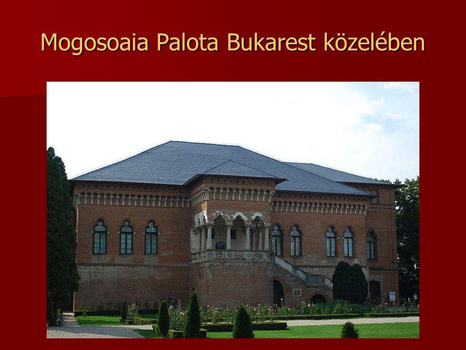 A Marasesti csata helyszínén emelt mauzóleum Moldva, Vráncsa megye.