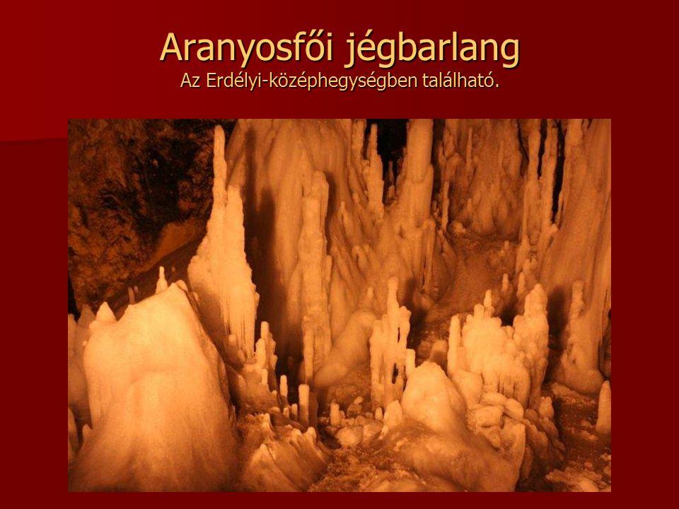 Polovragi cseppkőbarlang Észak Olténiában, a Páring hegység lábánál található.