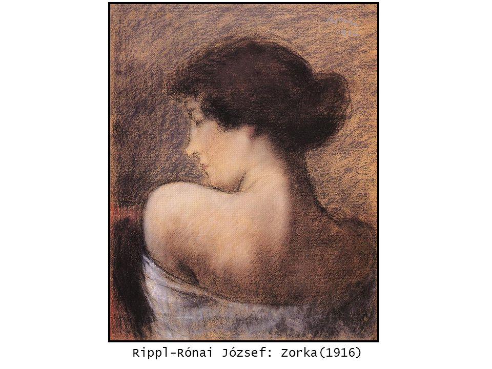 Rippl-Rónai József: Zorka(1916) kép