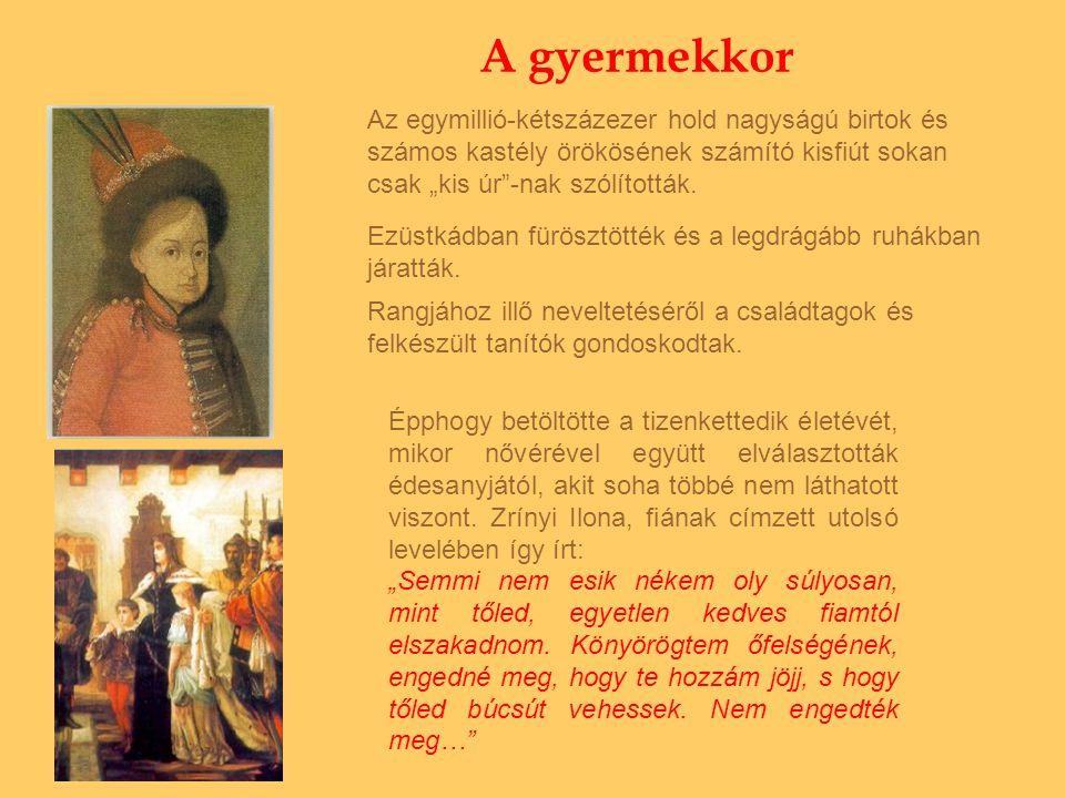 Az idézetek az alábbi könyvekből származnak: II.Rákóczi Ferenc: Vallomások.