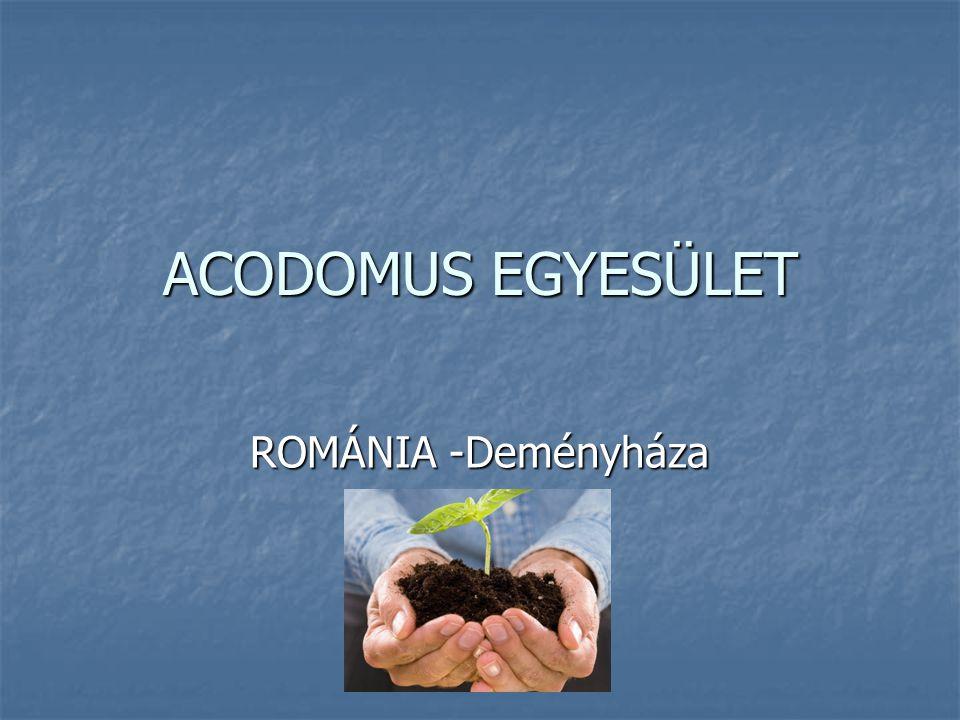 ACODOMUS EGYESÜLET ROMÁNIA -Deményháza