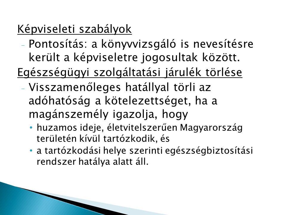 Mentesség - Magyar Honvédség, - a Katonai Nemzetbiztonsági Szolgálat - segélyszállítmányt szállító gépjármű, stb.