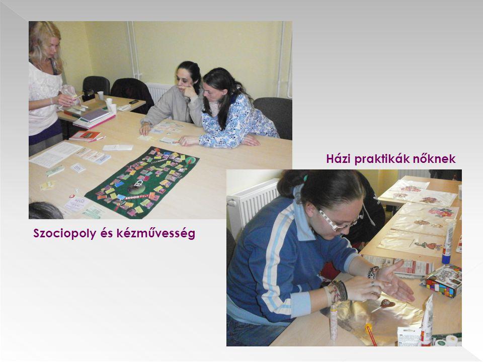 Házi praktikák nőknek Szociopoly és kézművesség