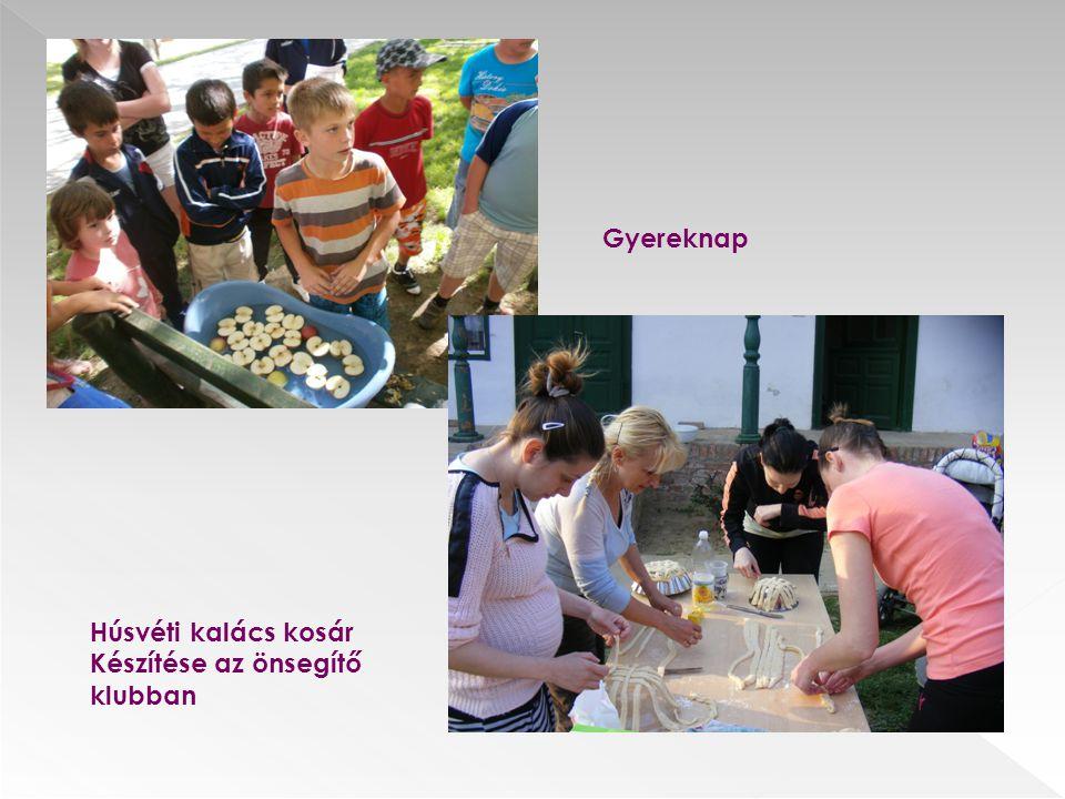Gyereknap Húsvéti kalács kosár Készítése az önsegítő klubban