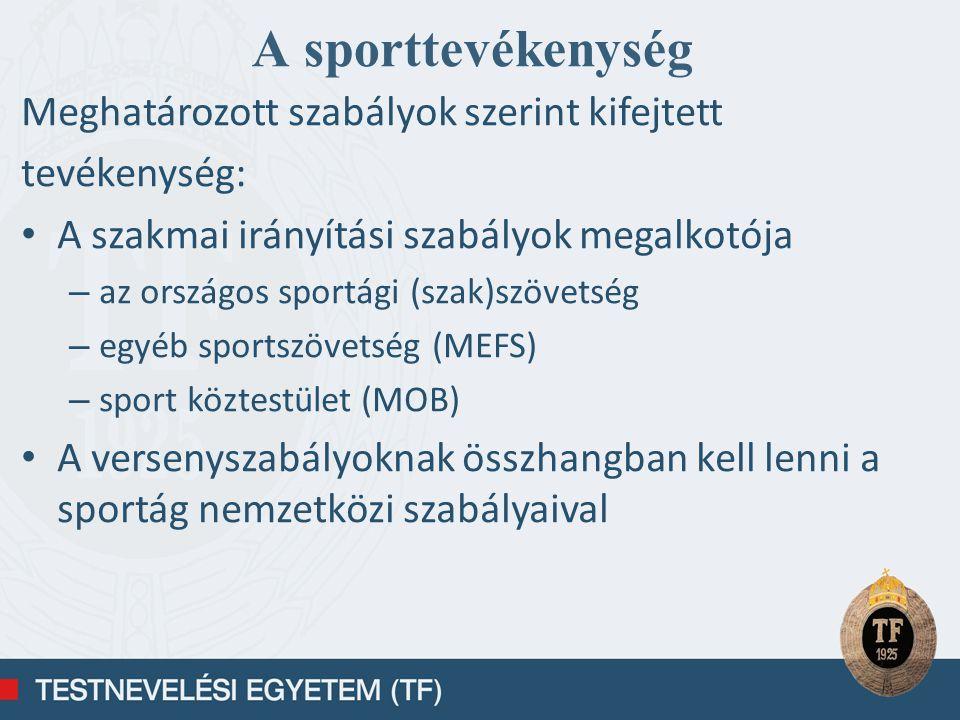 Egészség-megőrző funkció Szórakoztató funkció Gazdasági funkció Politikai – reprezentációs funkció Példakép funkció A sport társadalmi funkciói