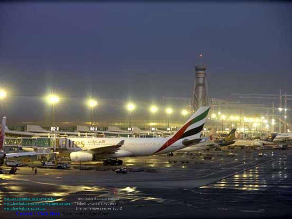 A Dubai nemzetközi repülőtéren egy új kaput és terminált építettek.